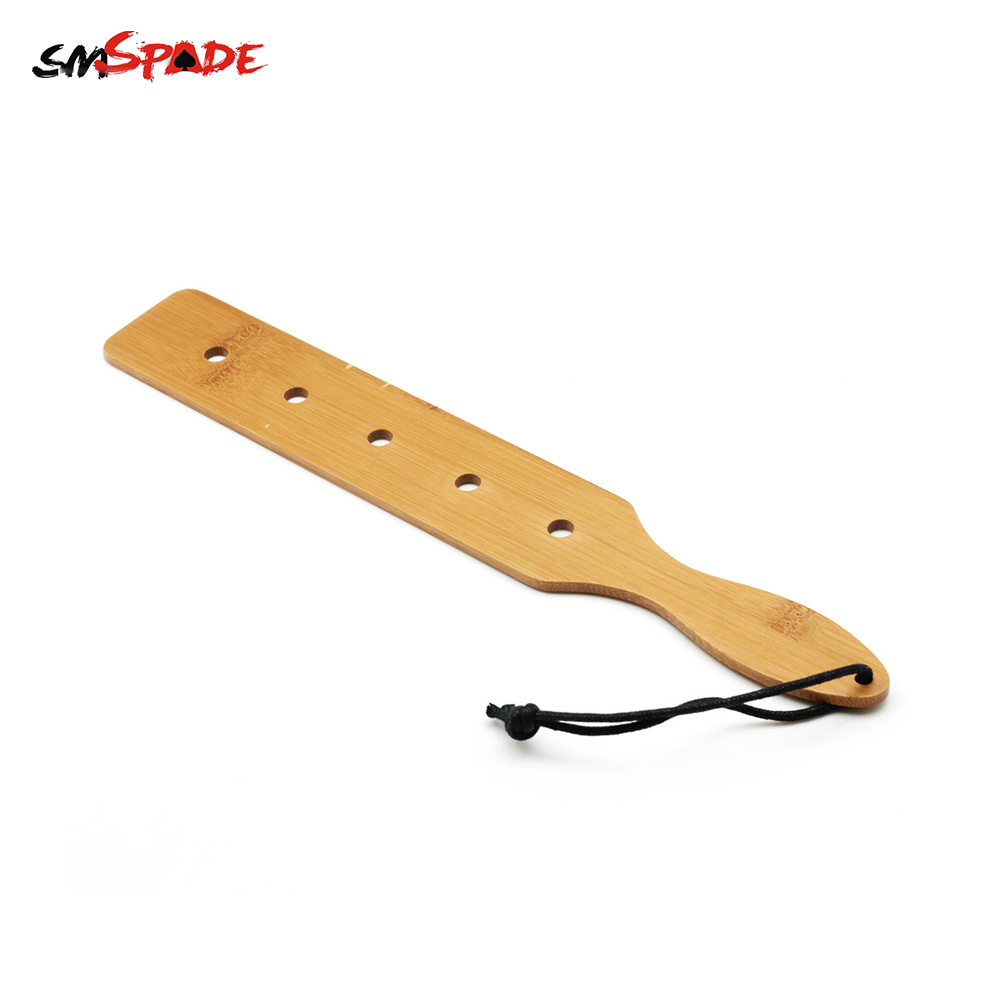 Smspade Nature Bamboo Spanking Paddle Bondage Bdsm Sex Paddle Slave Cosplay Spanker Adult Sex Toys for Couple Sex Tools for Sale