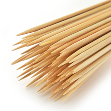 Утилизируемые бамбуковые палочки оборудование для барбекю Натуральные Бамбуковые шампура для барбекю шашлыка кабоб крытый и открытый гриль