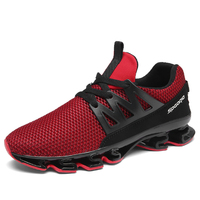 Quality Air Jogging Shock Absorbers Sneaker For Men Track Chaussure Sport Breathable Running Shoes Free Trainers