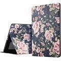 Case для ipad pro 9.7, ESR ИСКУССТВЕННАЯ Кожа Моды Женщина Девушка Case Ясно Мягкие Силиконовые Secret Garden Прикрытием для iPad Pro 9.7