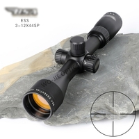 BSA 3 12X44 Tactical Optic Sight In Riflescope Rifle Scope Sniper Hunting Scopes Airgun Rifle Outdoor Reticle Sight Scope