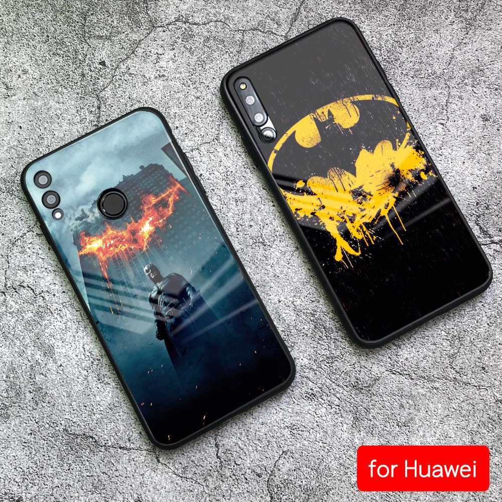 FinderCase for Huawei Mate 10 Pro Case Batman Glass Cover Case for Huawei Mate 9 10 20 Pro P10 P20 P30 Pro Honor Play P20 lite