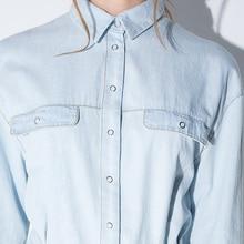 Vintage Denim Shirt Dress with Belt