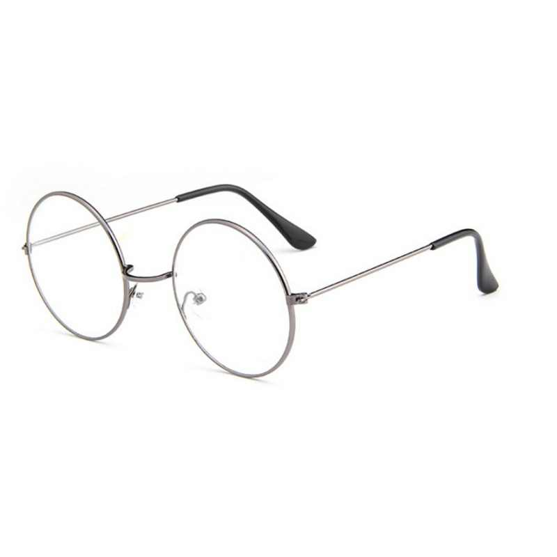 cf995b979d2 ... Round Spectacle Reading Glasses For Harry Potter Metal Frame Glasses  Plain Mirror Presbyopia Male Female Reading ...