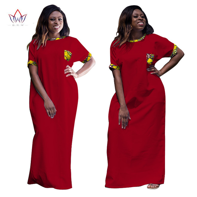 2017 Wholesale African Dresses for Women Dashiki Ropa Africa Traditional Clothing African Robe Long African Print Dresses WY998