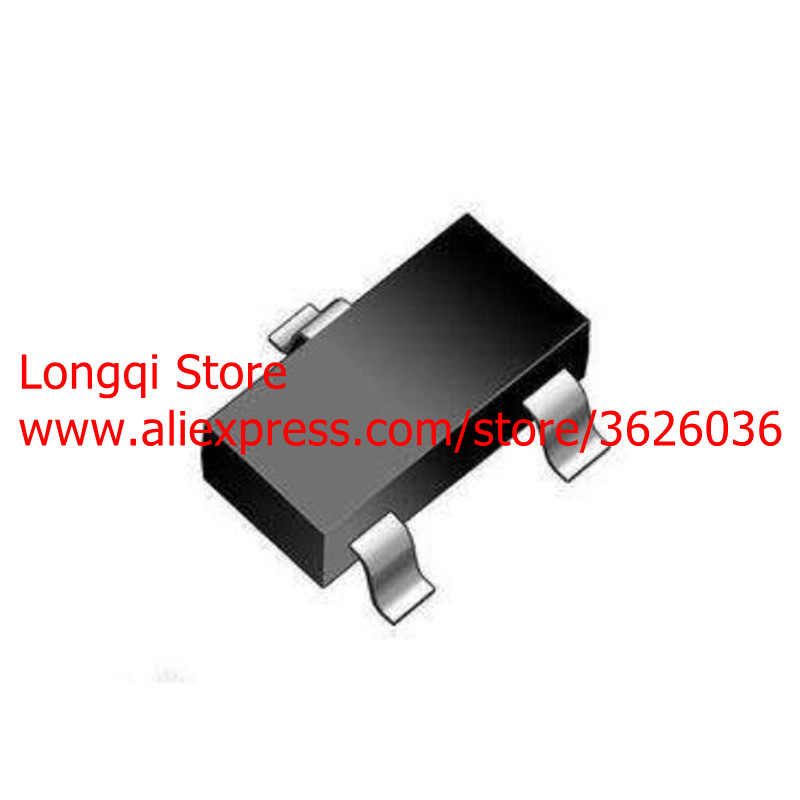 100 stks 2N7002LT1G 2N7002 Mark 702 12 w K72 SOT23 SOT-23 Kleine Signaal MOSFET 60 v 115mA N -kanaal NPN