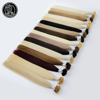 Fairy Remy Hair 22 Inch 1g/strand Real Remy Natural U Tip Extension Human Hair Light Blonde Colored Strands Hair On Capsule 50