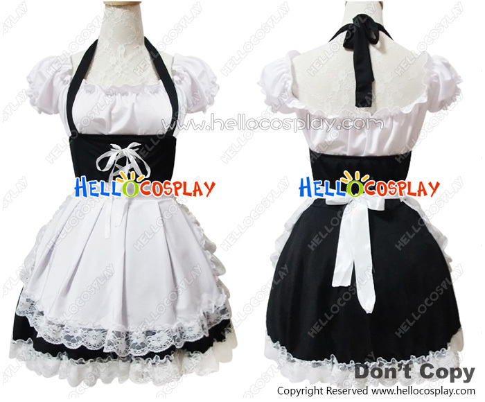 Angel Feather DS Sweet Pretty Maid šaty Cosplay kostým H008