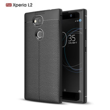For Sony Xperia L2 case Soft Silicone Rubber Carbon Fiber Back Cover Phone Case For Sony Xperia L2 case cover For Sony L 2 смартфон sony h4311 xperia l2 black