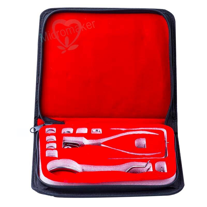 Nouveau Type 1 set dentaire en caoutchouc barrage perforateur perforateur dents soins pinces dentiste laboratoire dispositif Instrument outils de haute qualité