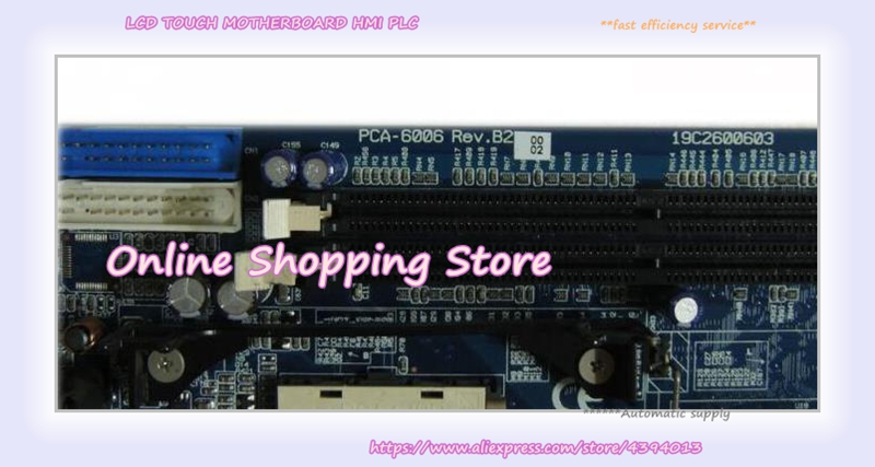 Industrial PC motherboard PCA-6006LV PCA-6006 Rev.B2 with CPU&fan