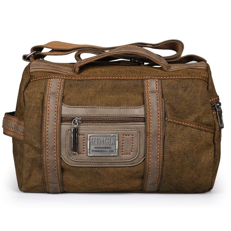 Bolso de viaje Ruil para hombre, bolso de lona Retro plegable, bolso de hombro, bolsos de ocio impermeables portátiles para mujer-in Bolsas de viaje from Maletas y bolsas    2