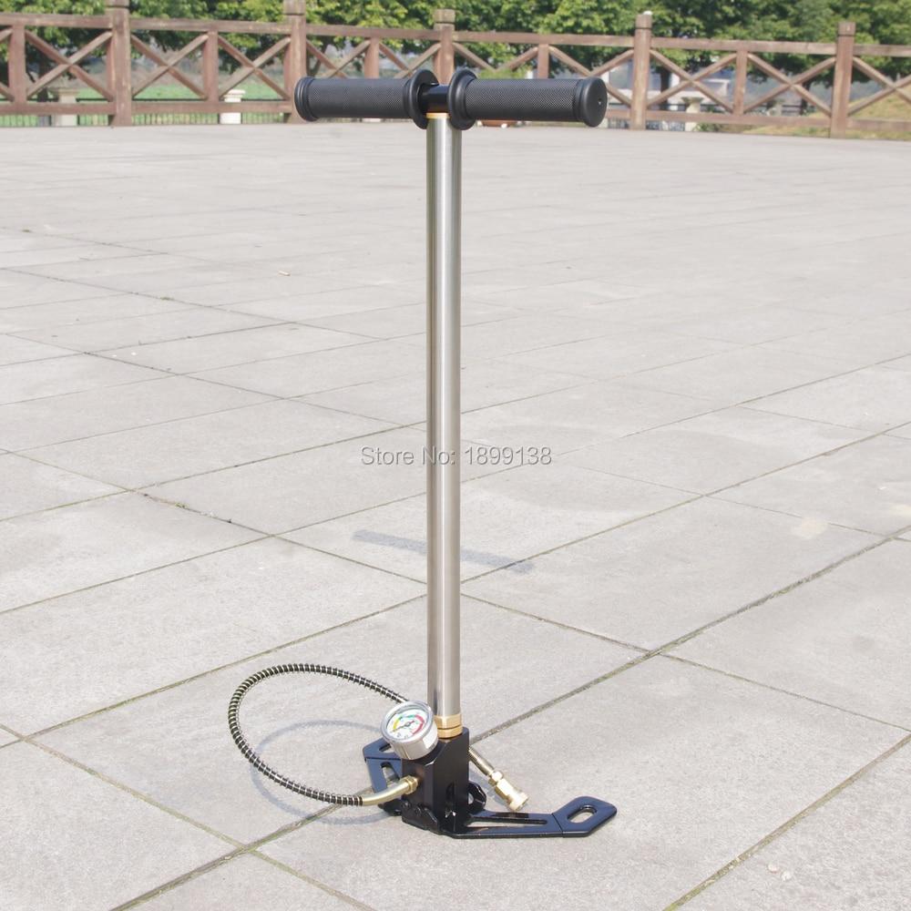 Foldable Manual high pressure PCP pump 4500psi 300bar 30mpa Air rifle Airgun PCP pump PCP bomba bull 30mpa pcp air rifle pump airgun pump high pressure pcp hand pump max pressure 4500psi
