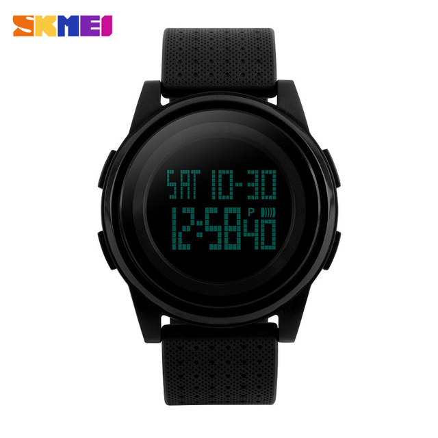 da6bea6cae9 SKMEI 1206 Men s Women LED Digital Wristwatches Relogio Masculino Feminino  Waterproof Sport Thin Fashion Simple Dial