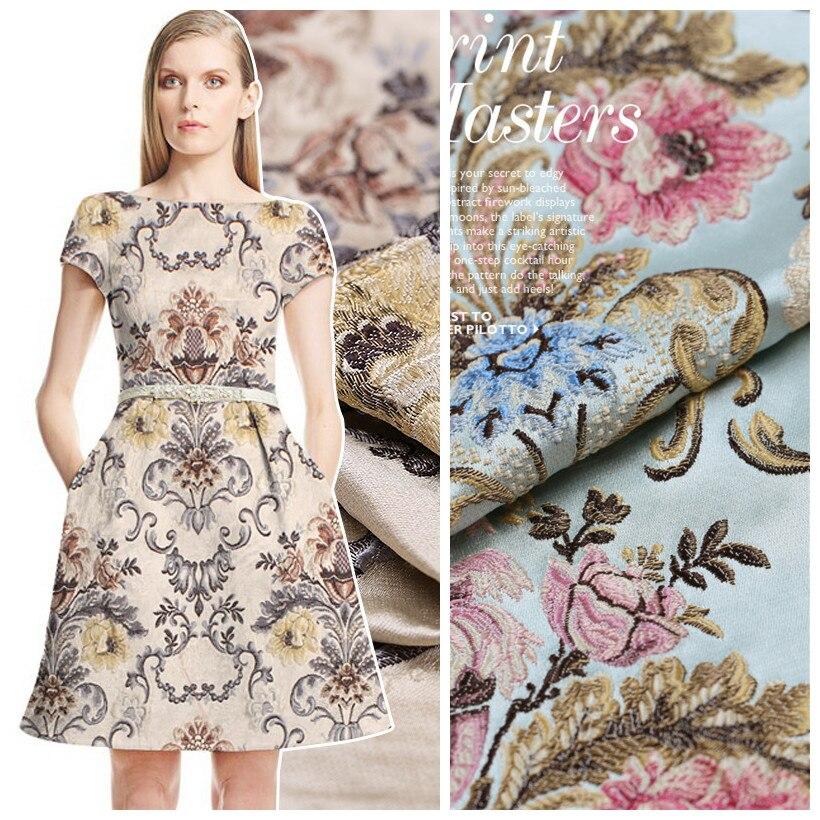 Besplatna dostava! Žakard brokatna tkanina hrskava haljina jakna diy - Umjetnost, obrt i šivanje - Foto 1