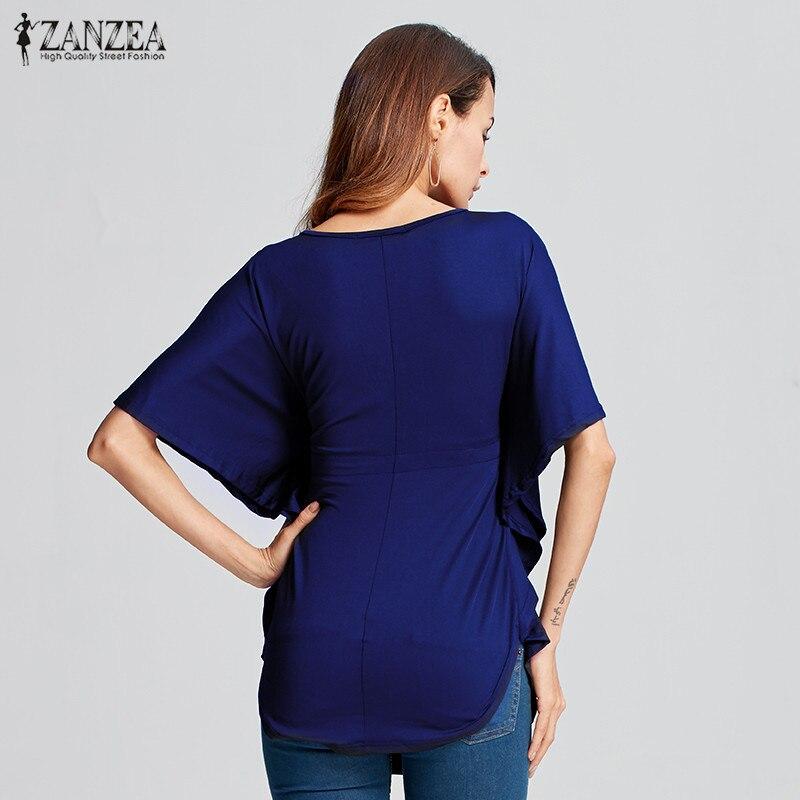 Blusas de verano Femininas 2016 Blusas de Las Mujeres Ocasional Floja - Ropa de mujer - foto 4