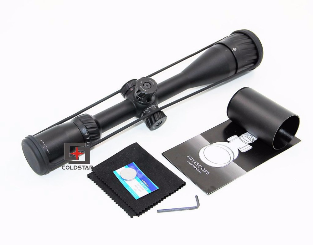 NEW Military 5-20x44 AOIR Hunting Scopes Red&Green&Blue Illuminated Scope Reticle Sport Optical Sights for Airgun Air Rifle 4x magnifier scope fts flip to side for aimpoint or similar scopes sights for airsoft hunting