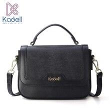 Kadell 2017 Women Flap bags Luxury Handbags Women Bags Designer PU Leather Messenger Bag Litchi pattern Vintage Small Mini Bolsa