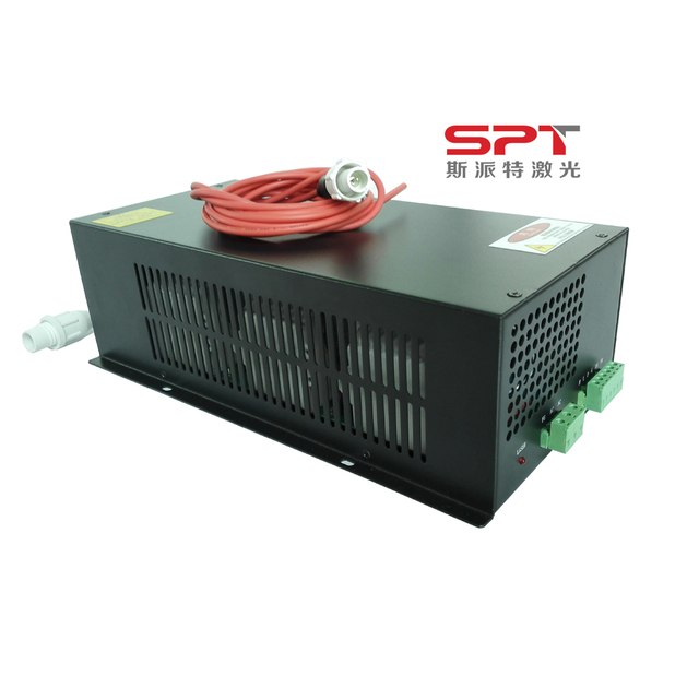 SPT 100w co2 laser power sources with High Voltage wholesale price