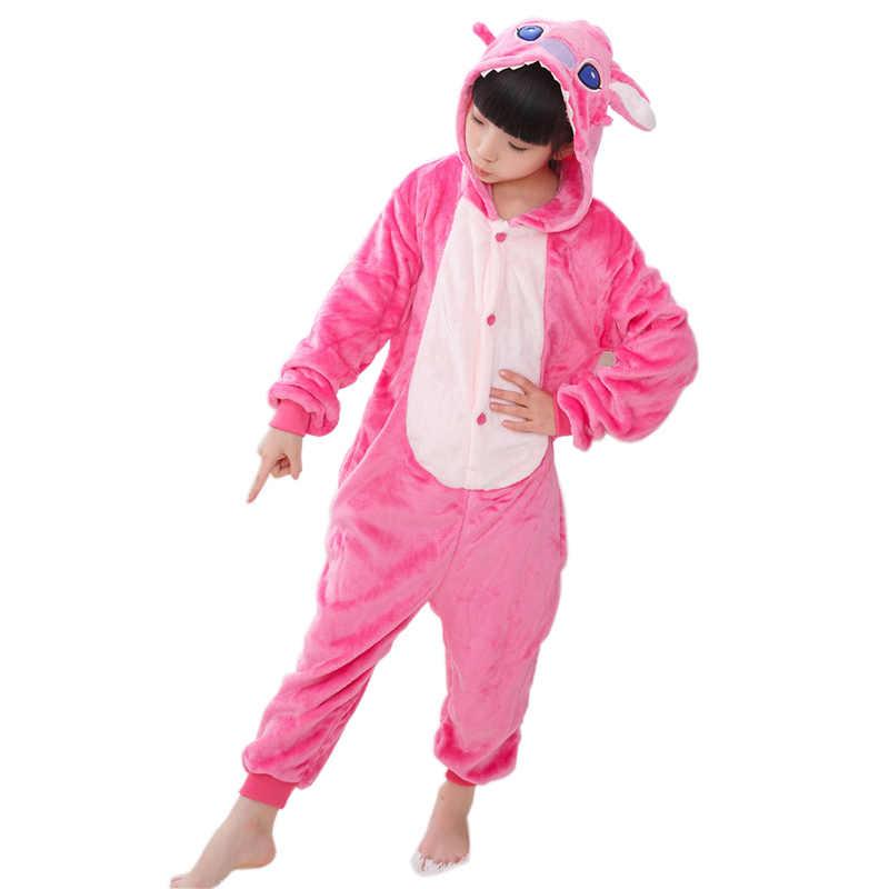 21af2e352be7 ... Дети пижамы комбинезоны животных Единорог стежка Pegasus пижамы с Пикачу  для фланель для мальчиков и девочек ...