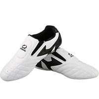 2016 new arrival white PU Leather Child adult taekwondo shoes wear resistant taekwondo shoes Eur 27 45 sport shoes train shoes