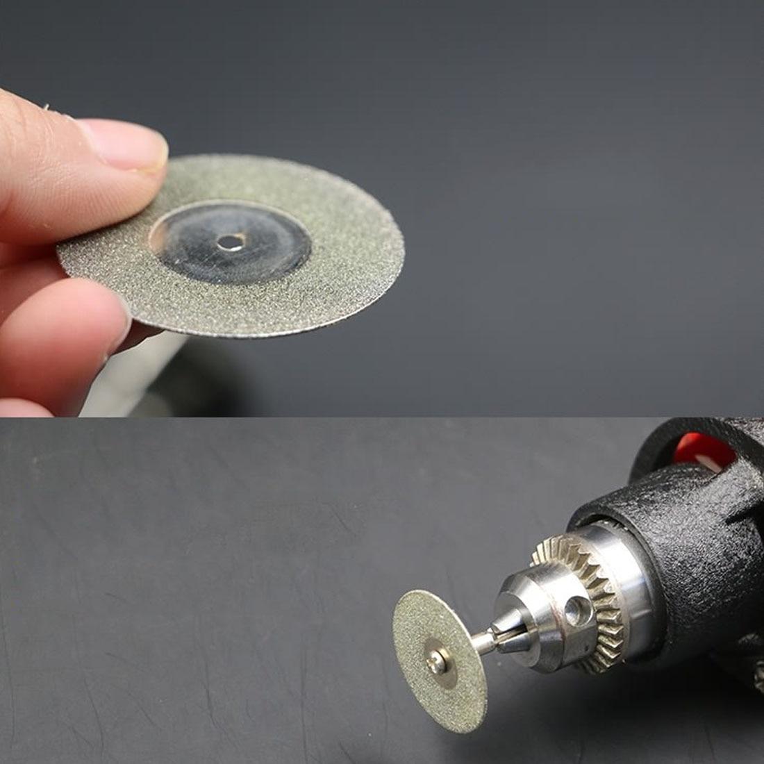 Circular Saw Abrasive Saw Blade Tool 60mm Diamond Cutting Disc For Mini Drill Dremel Tools Diamond Disc Steel Rotary Tool