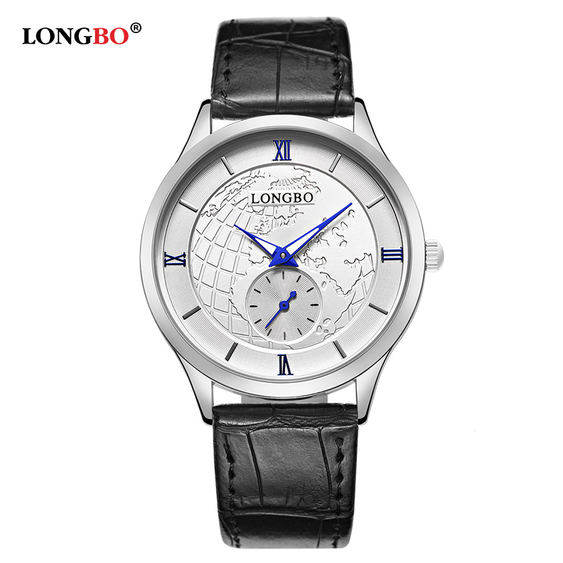 LONGBO Couple Quartz Watch Luxury Waterproof Women Men Watches Casual Lovers Wristwatch Fashion Unique Reloj Hombre Gifts 80313