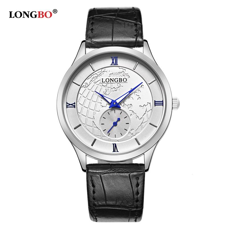 LONGBO Couple Quartz Watch Luxury Waterproof Women Men Watches Casual Lovers Wristwatch Fashion Unique Reloj Hombre Gifts 80313