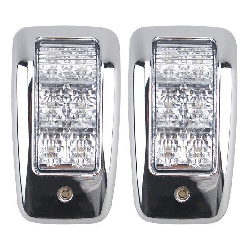 1 пара 6LED Топ лампа белый салон для автомобиля Купол свет для 24 В для грузовика и прицепа морской лодки Аксессуары-in Детали и аксессуары для дома на колесах from Автомобили и мотоциклы