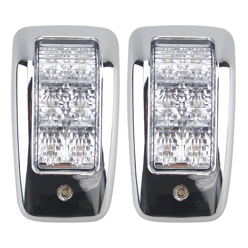 1Pair 6LED Top Lamp White Car Interior Dome Light for 24V Truck Trailer Lorry Marine Boat Accessories-in RV Parts & Accessories from Automobiles & Motorcycles
