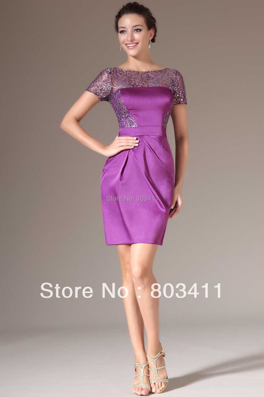 Online Get Cheap Purple Cocktail Dress -Aliexpress.com | Alibaba Group