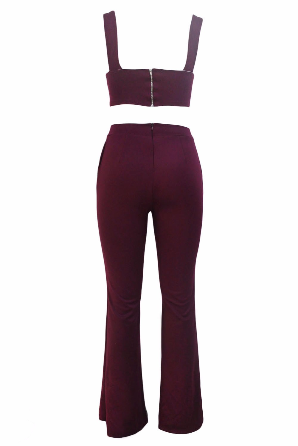 Burgundy-Cross-Front-Crop-Top-and-Pocket-Pant-Set-LC62005-3-42964