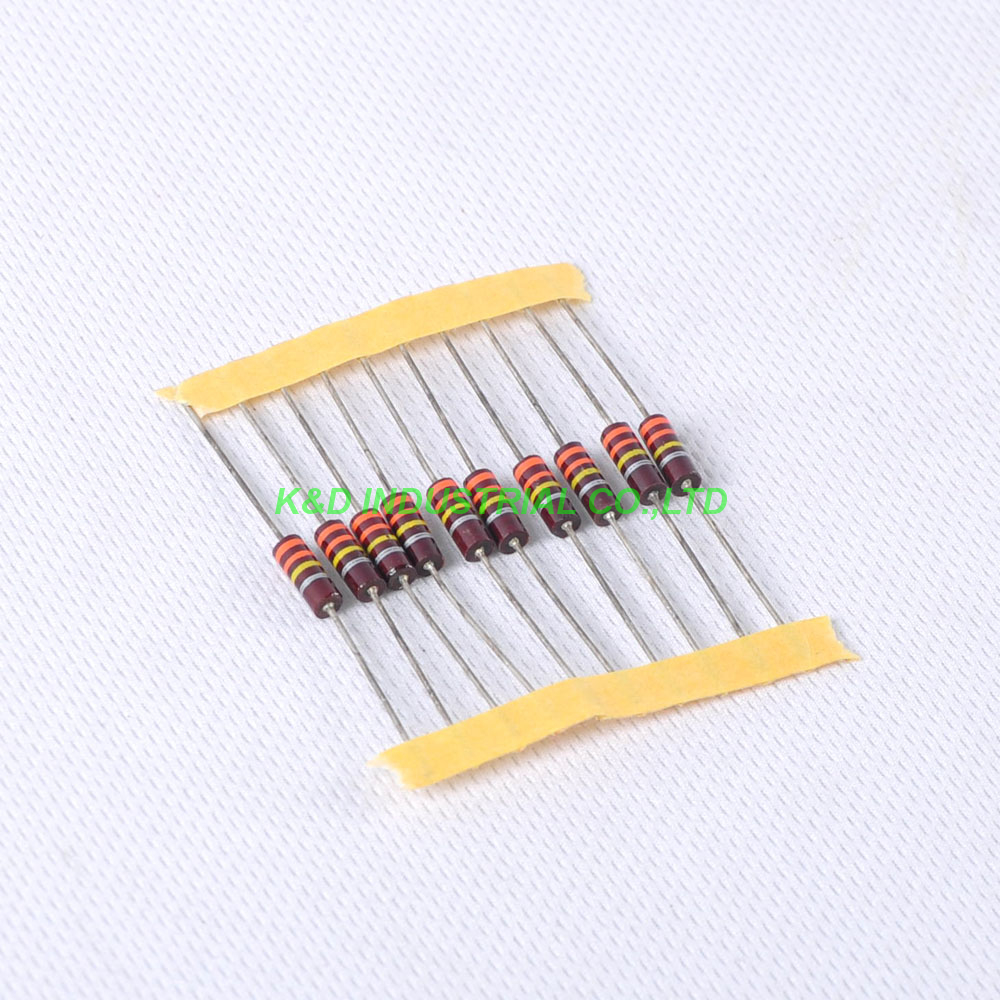 10pcs Carbon Composition vintage Resistor 0 5W 330K ohm 20 in Electrical Plug from Consumer Electronics
