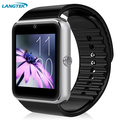 Wearable Smart Watch GT08 Clock Sync Notifier Support Sim Card Bluetooth Connectivity Apple iphone Android Phone Smartwatch
