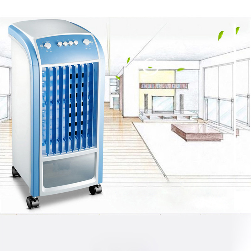 Air conditioning fan humidification single cooling fan remote control timing mobile small air conditioner with wheel S-X-1150AAir conditioning fan humidification single cooling fan remote control timing mobile small air conditioner with wheel S-X-1150A