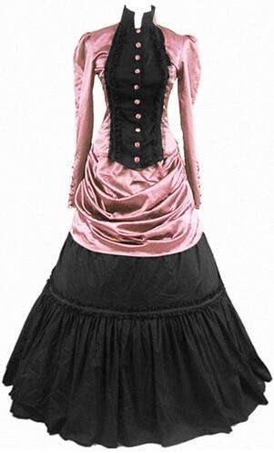 (GT009) Lolita Dresses Long Sleeveless New Arrival Women Summer Dress Party Gothic Lolita Costumes Victorian Halloween for Girls
