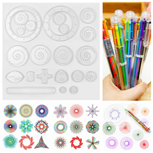 Drawing Toy Set Students Art Tool Multi-function Spirograph Gears & Wheels Rulers Drafting Tools Educational Toys For Children(China)