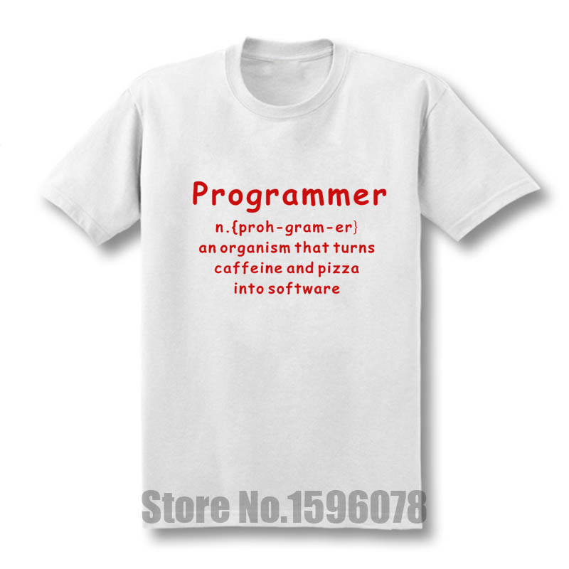 Programmer Coder Software Engineer Loose Fit Funny Mens T Shirt