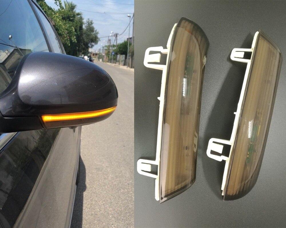 LED Side Wing Rearview Mirror Indicator Blinker Repeater Light Turn Signal For Volkswagen VW GOLF 5 Plus Jetta MK5 Passat B6 EOS
