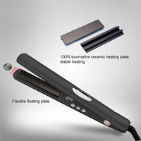 Professional LED Ions Straightening Irons Temperature Ajustable Styling Tools Hair Straightener Rapid Heating