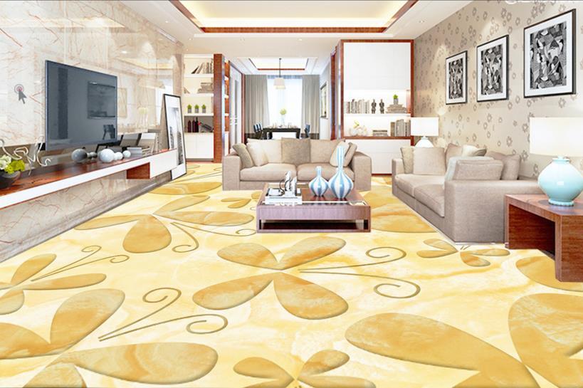 ФОТО 3d floor butterfly custom 3d wallpaper bathroom flooring art non-slip self-adhesive waterproof floor murals