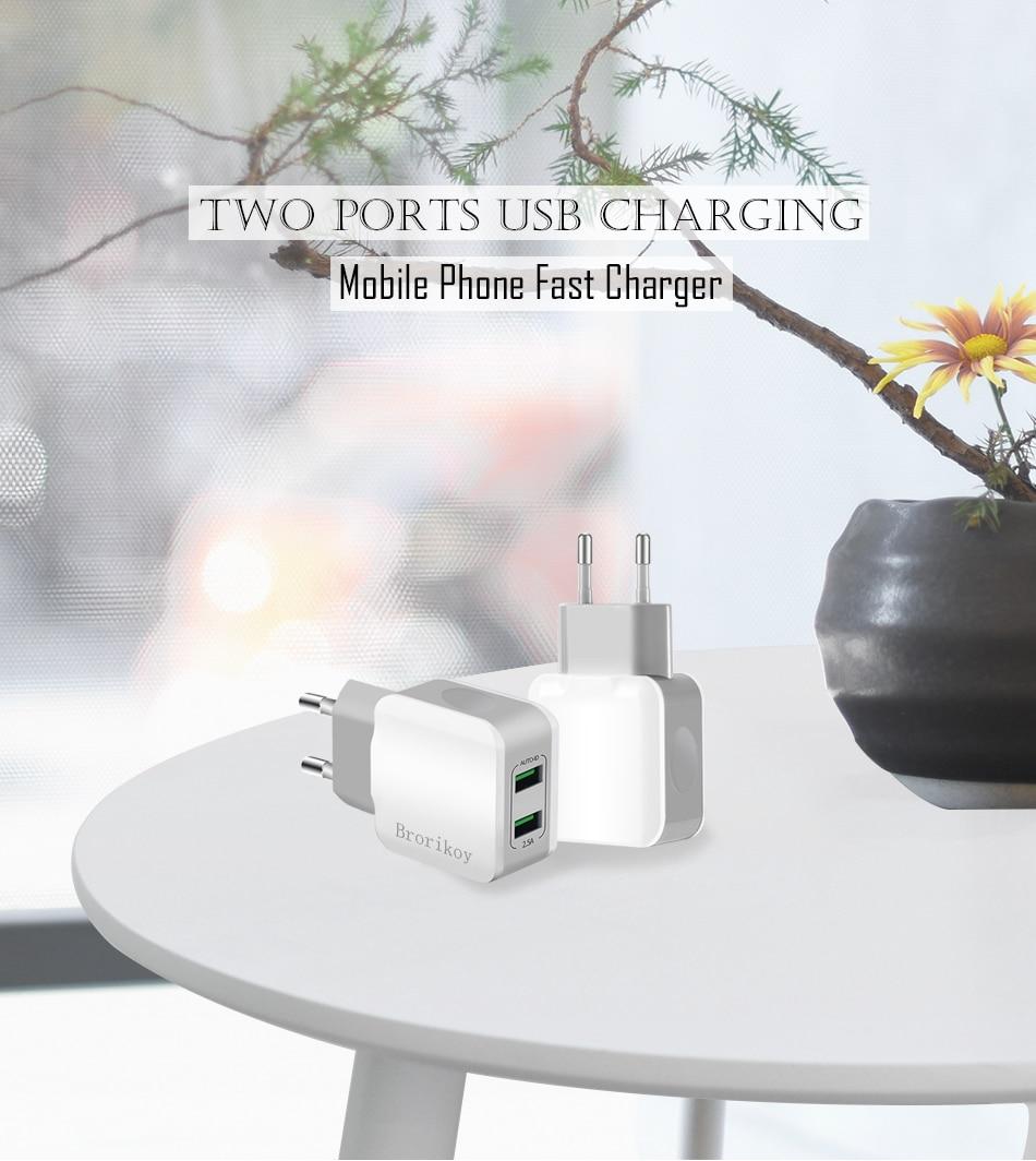 939eba75f ᑐUSB Carregador de Parede para o iphone Samsung 5 6 7 8 Borda além ...