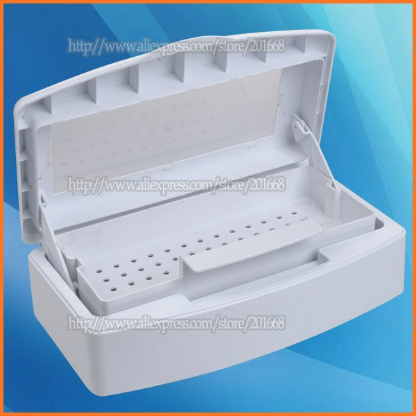 Manicure Tools Sterilizer Tray Nail Art Sterilizing Box Beauty Implement Clean Salon Na213