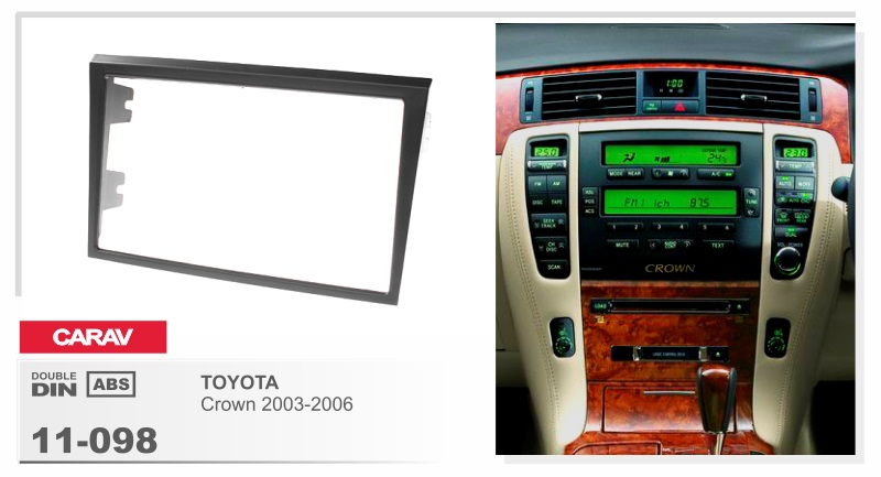 Frame +android 6.0 car dvd for toyota crown 2003-2006 auto bT stereo heat units 4G lite dvr tape recorder radio media GPS NAVI