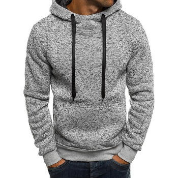 718981b02 Laamei 2019 Marca Primavera Homens Camisola Hoodies Harajuku Moletom Com  Capuz Hip Hop Streetwear Pullover Sólida Homens Casuais Agasalho Masculino