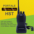 HST Radio Waterproof Walkie Talkie UHF 5W 16CH 400-520MHz Portable Two Way Radio Communicator Interphone radios de comunicacion
