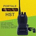 HST Radio Waterproof Walkie Talkie UHF 5W 16CH 400-520MHz Portable Two Way Radio Communicator Interphone radios de comunicacion