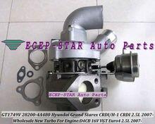 Free Ship BV43 127 28200-4A480 53039700127 53039700145 Turbo Turbocharger For HYUNDAI Grand Starex CRDI H-1 CRDI D4CB 16V 2.5L