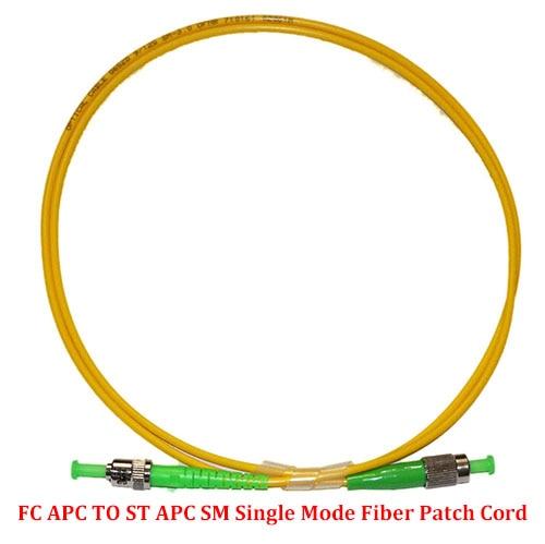 ALLSTRONG 10 Pieces SC UPC to FC APC Fiber Patch Cord Simplex 3.0mm SM Single Mode 1 Meter//2 Meter//3 Meter//5 Meter//7 Meter 1.0 Meter