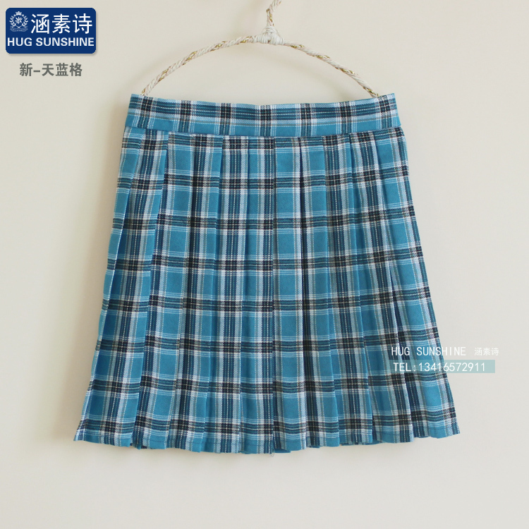 New Spring and summer Womens College winds Plaid Skirt Uniforms Students Cosplay Womens Plus Size Xs-4xl Skirts girls